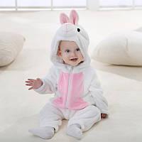 """Детская пижама кигуруми для девочки """"Зайчик"""""""