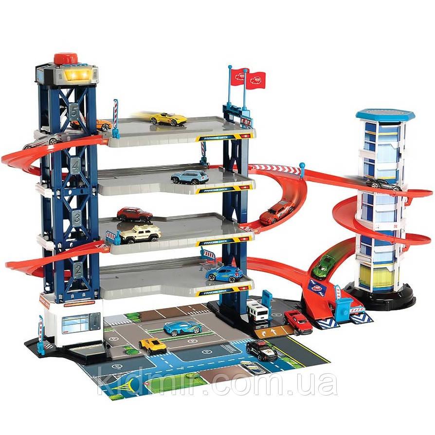 Паркинг с 4 этажами со светом и звуком City Dickie Toys 3749008
