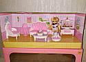 Кукольная мебель — Гостиная, куколка, питомец, кресло, диван, телевизор, фото 2