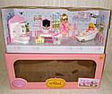 Кукольная мебель — Ванная комната, куколка, ванна, унитаз, умывальник, фото 2