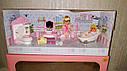 Кукольная мебель — Ванная комната, куколка, ванна, унитаз, умывальник, фото 3