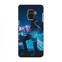 Чехол с печатью (Мода) для Samsung A8 Plus , A8 Plus 2018, A730F (AlphaPrint) (Самсунг А8 плюс, А8+, А730Ф), фото 1