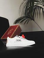 Мужские осенние кроссовки белого цвета Vans NASA white