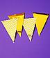"""Гирлянда-флажки """"Gold Chevron"""" (12 шт.), фото 2"""