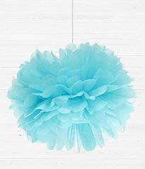 """Бумажный пом-пон """"Light Blue"""" (35 см.)"""