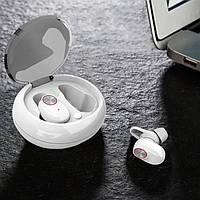 Бездротові навушники SUNROZ V5 TWS Bluetooth навушники вкладиші Білий