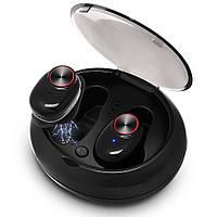Бездротові навушники SUNROZ V5 TWS Bluetooth навушники вкладиші Чорний