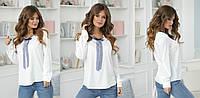 Блузка женская с лентой в расцветках 38336, фото 1