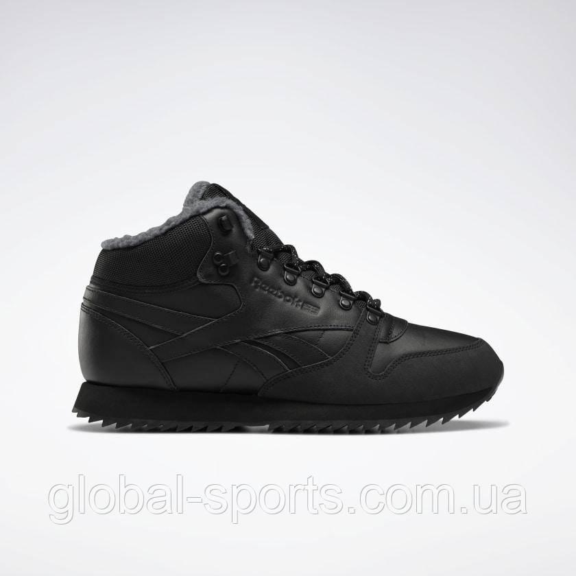 Мужские кроссовки Reebok Classic Leather Mid Ripple(Артикул:FU9129)