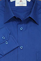 Синяя мужская рубашка