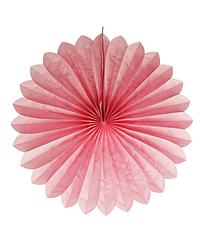 """Бумажные веера """"Light Pink"""" (35 см.)"""