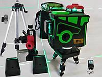 3D Лазерный Уровень + Штатив +Кронштейн магнитный +2 Аккумулятора +Д.У.