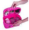 Двойной дорожный органайзер ORGANIZE (розовый), фото 4