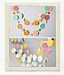 Бумажная гирлянда-кружки 150 см. (различные цвета), фото 3