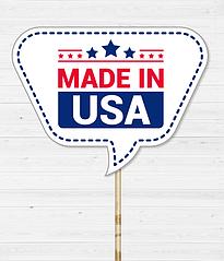 """Табличка для фотосессии """"Made in USA"""""""