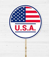 """Табличка для фотосессии """"USA"""""""