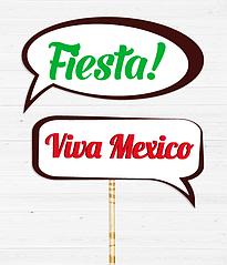 Таблички для фотосессии на мексиканской вечеринке (2 шт.)