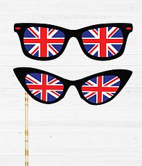 """Набор аксессуаров для фотосессии """"Британские очки"""""""