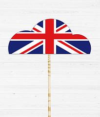 Аксессуар-облако в британском стиле