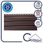 Подшива, Софит - Панель Соффит коричневая перфорированная Т-20*, 3м