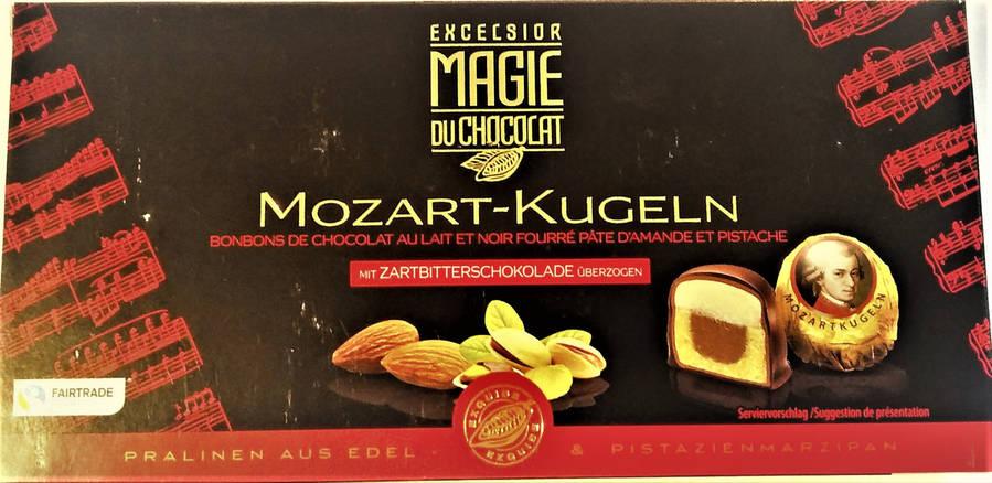 Шоколадные конфеты Excelsior Magie Mozart-kugeln 200 g, фото 2