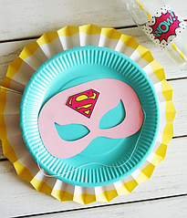 "Маска для праздника ""Super Girl"""