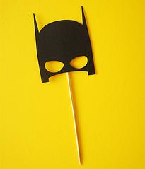 """Топпер для торта """"Бэтмен"""""""