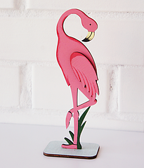 """Фигурка для украшения праздника """"Фламинго"""""""