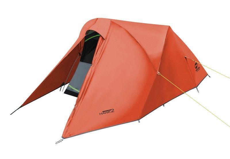 Палатка Hannah Hawk 2 mandarin red