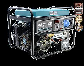 Генератор бензиновый Konner&Sohnen KS 7000E (5,5кВт), фото 2