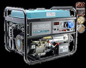 Генератор бензиновый Konner&Sohnen KS 7000E ATS (5,5кВт), фото 2