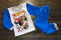 Детская пижама для мальчиков хотвилз.На байке.