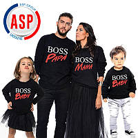 Свитшоты для всей семьи Family Look Фэмили лук толстовки для мамы папы и детей изготовление за один день
