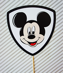 "Табличка для фотосессии ""Микки Маус"""