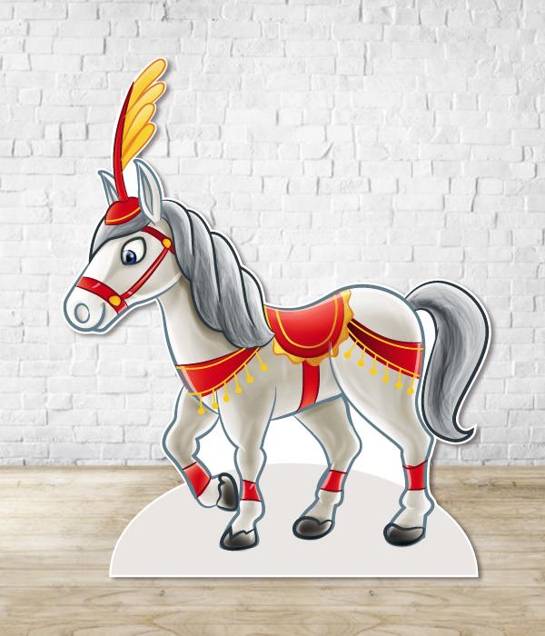 """Фигура из пластика """"Лошадь"""" (100 х 83 см.)"""