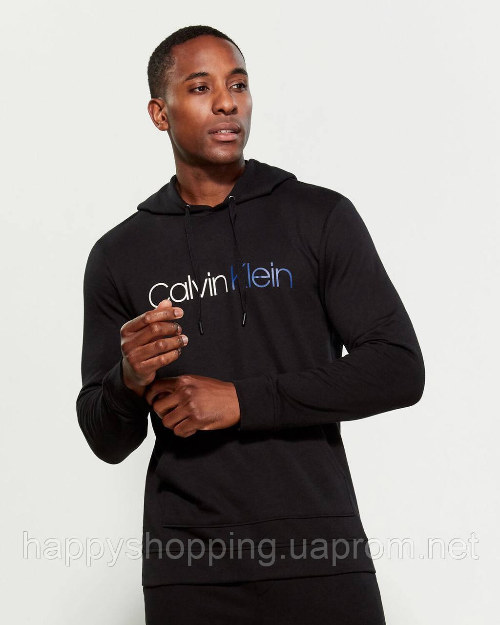 Мужской оригинальный черный спортивный костюм Calvin Klein (размер  XL)