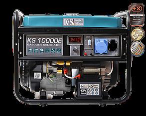 Генератор бензиновый Konner&Sohnen KS 10000E (8кВт), фото 2