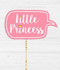"""Табличка для фотосессии """"Little Princess"""""""
