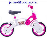 Беговел Small Rider для девочек Бело-розовый ВВ001 пластик