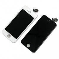 Дисплей (LCD) iPhone 5 с сенсором оригинал черный и белый