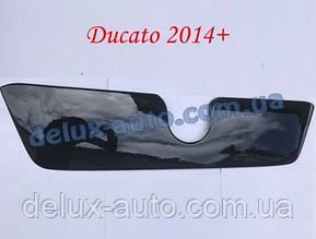 Зимняя матовая решетка (2014↗) на Fiat Ducato 2006↗ и 2014↗ гг.