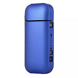 Чехол для IQOS 2.4 Soft Touch синий