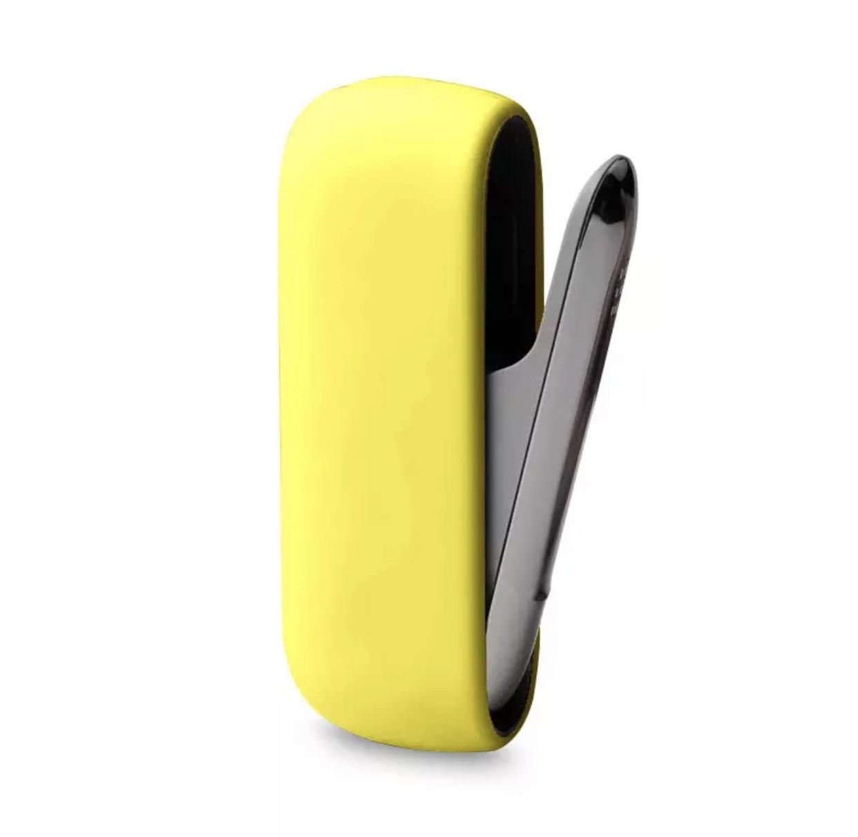 Чехол для IQOS 3 силиконовый, sweet yellow