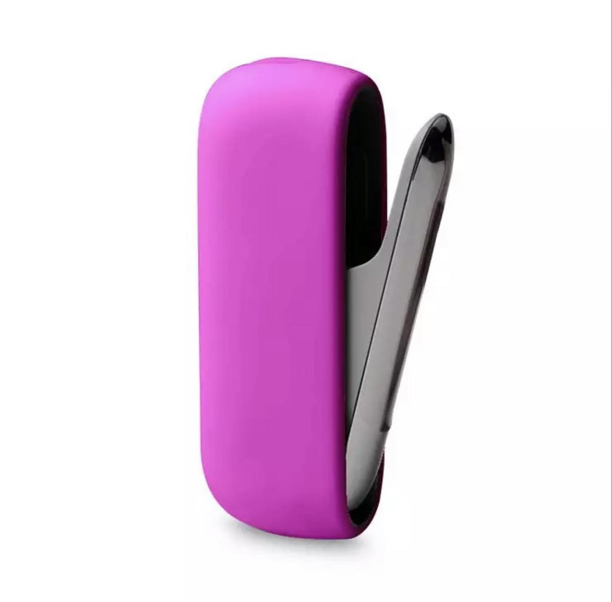 Чехол для IQOS 3 силиконовый, crazy pink