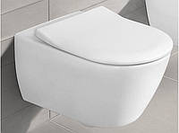 Унитаз VILLEROY & BOCH Subway 2.0 5614R2R1 Direct Flush с покрытием Ceramic Plus и сиденьем Slim Seat