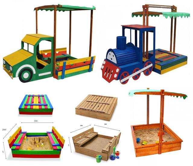 Детские песочницы (В ассортименте)