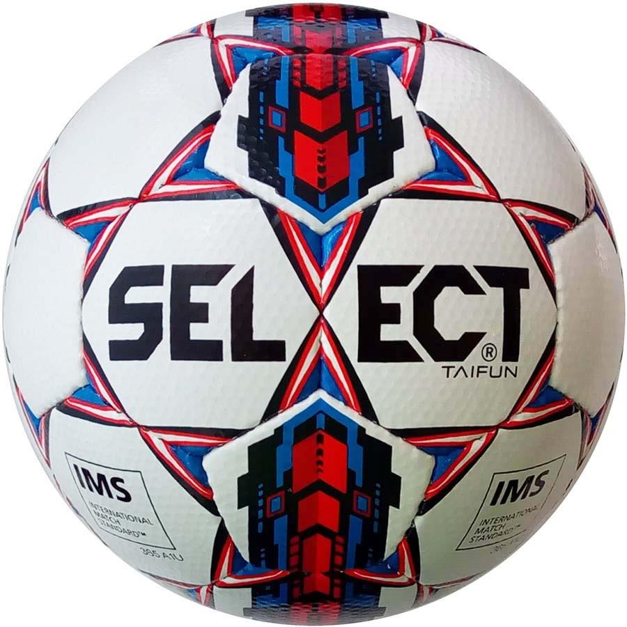 Мяч футбольный Select Taifun (White-Red)