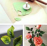 Плунжер Лист Троянди маленький 3 шт (кнопка), фото 2