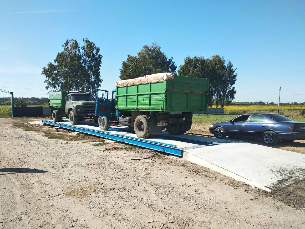 Автомобильные весы для полигонов ТБО, мусорных полигонов