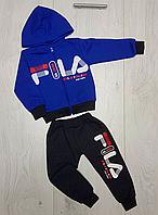 Теплый спортивный костюм детский fila., фото 1